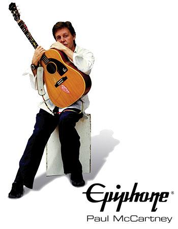 Paul McCartney Epiphone